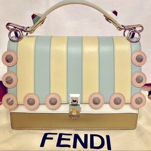Fendi Calfskin Kan I Limited Edition Bag